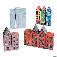 Cool Cardboard City Bricks
