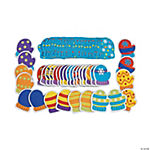 56 Pc. Marvelous Mitten Matching Game