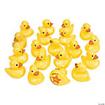 Plastic Duck Matching Game
