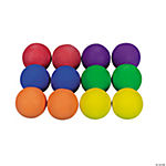 12 Cool Colorful Rubber Baseballs