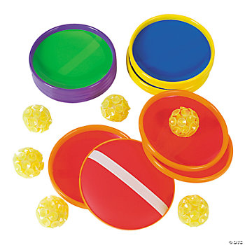 6 Super Suction Cup Catch Game Sets
