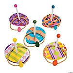 Excellent Easter Egg Wooden Ring Toss Game