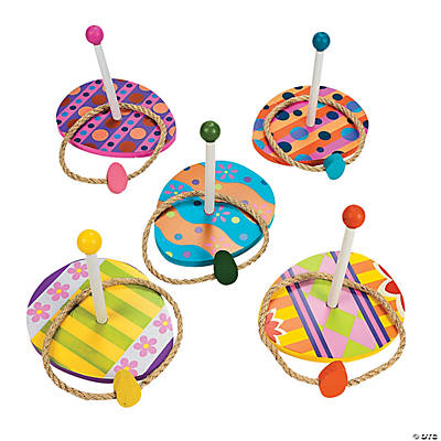 Excellent Easter Egg Ring Toss Game