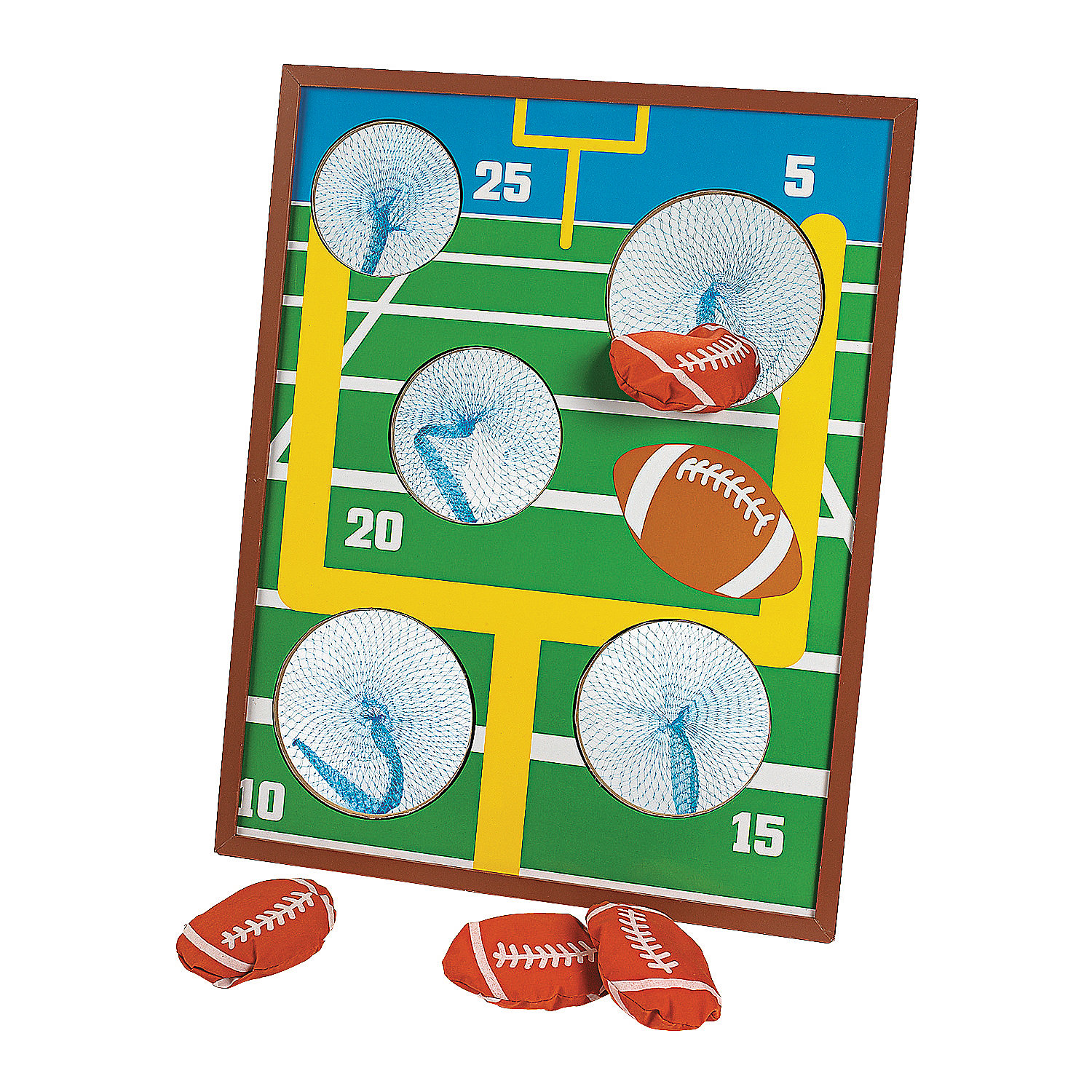 Football Toss Game Oriental Trading
