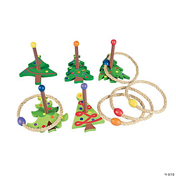 Christmas Tree Ring Toss Game