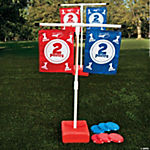 Flag Disk Toss Game