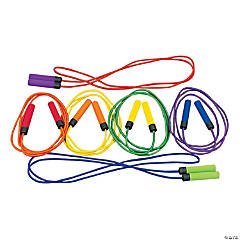 6 Soft Grip Jump Ropes