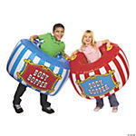 2 Pc. Carnival Inflatable Body Bopper Set