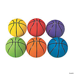 Rainbow Basketballs