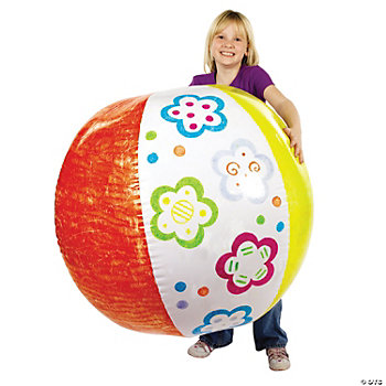 DIY Inflatable Giant Beach Ball
