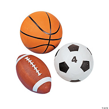 3 Pc. Playground Ball Kit