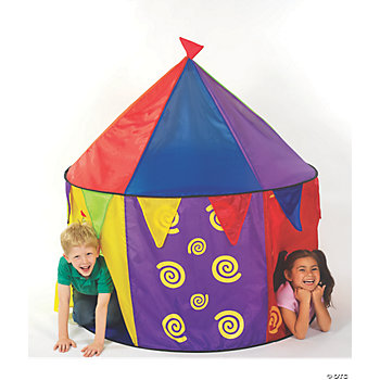 Pop-Up Nylon Circus Tent
