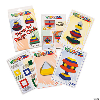 Wedgits™ Building Blocks Starter Set Design Cards