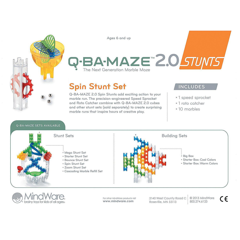 q ba maze 2.0 stunts instructions
