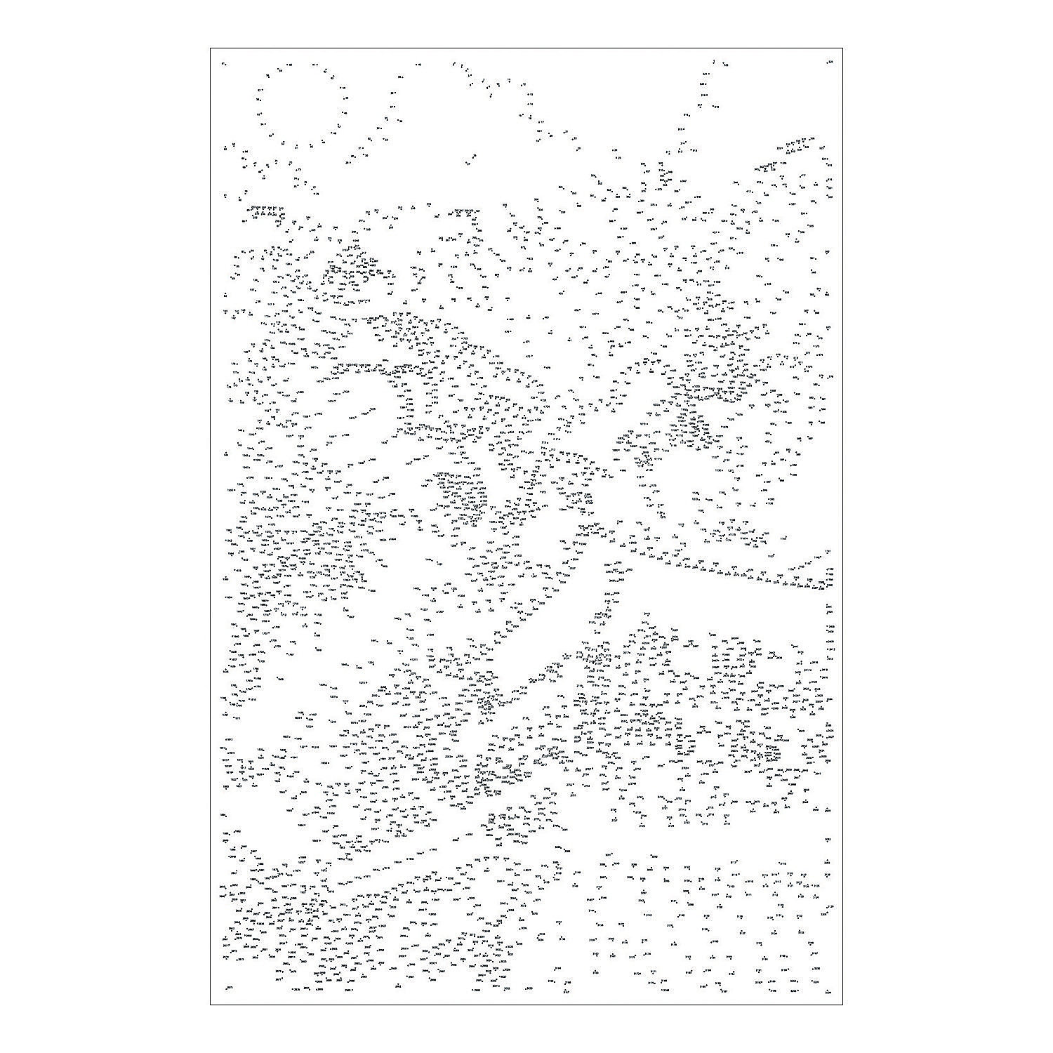 Extreme Dot to Dot 7-Poster Set: Famous Destinations, Brainteasers ...