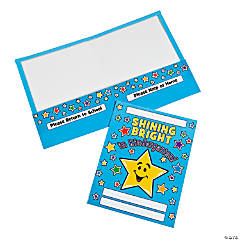 "12 ""Shining Bright In Kindergarten!"" Folders"