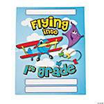 "12 ""Flying Into 1st Grade"" Folders"