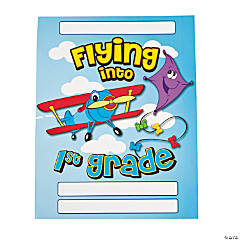 Flying Into 1st Grade Pocket Folders