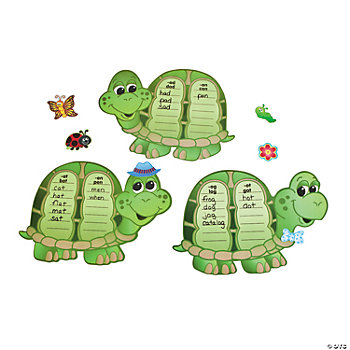 84 Pc. Word Family Turtles