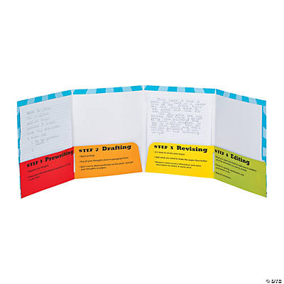 Writing Process Pocket Folders