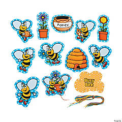 12 Pc. Busy Bee Lacing Cards