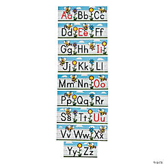 9 Pc. Busy Bee Alphabet Strips