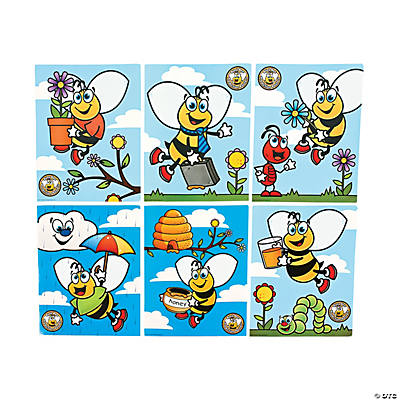 6 Busy Bee Prediction Posters