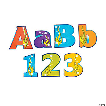 267 Seaside Learning Letters & Numbers