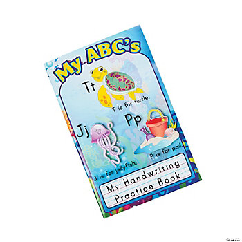 12 Seaside Learning ABC Handwriting Books