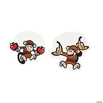 48 Monkey Marketplace Cutouts