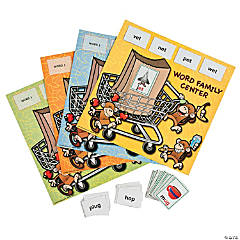 154 Pc. Monkey Marketplace Word Family Center