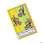 12 Monkey Marketplace ABC/123 Handwriting Books