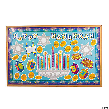 Hanukkah Bulletin Board Set