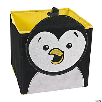 Penguin Pop-Up Storage Bin