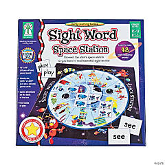 "97 Pc. Carson-Dellosa ""Sight Word Space Station"" Game"