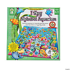 "147 Pc. Carson-Dellosa ""I Spy Alphabet Aquarium"" Game"
