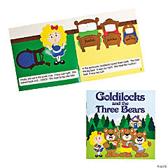 """Goldilocks & the Three Bears"" Early Reader Books"