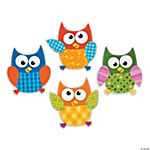 100 Days Smarter Owl Cutouts