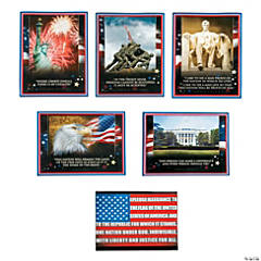 6 Pc. Patriotic Poster Set