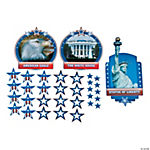 53 Pc. Patriotic Bulletin Board Cutouts