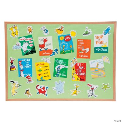Dr. Seuss™ Favorite Books Mini Bulletin Board Set