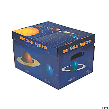 3 Solar System Themed Storage Boxes