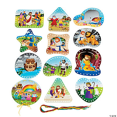 Bible Story Lacing Cards