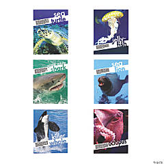 6 Sea Creatures Posters