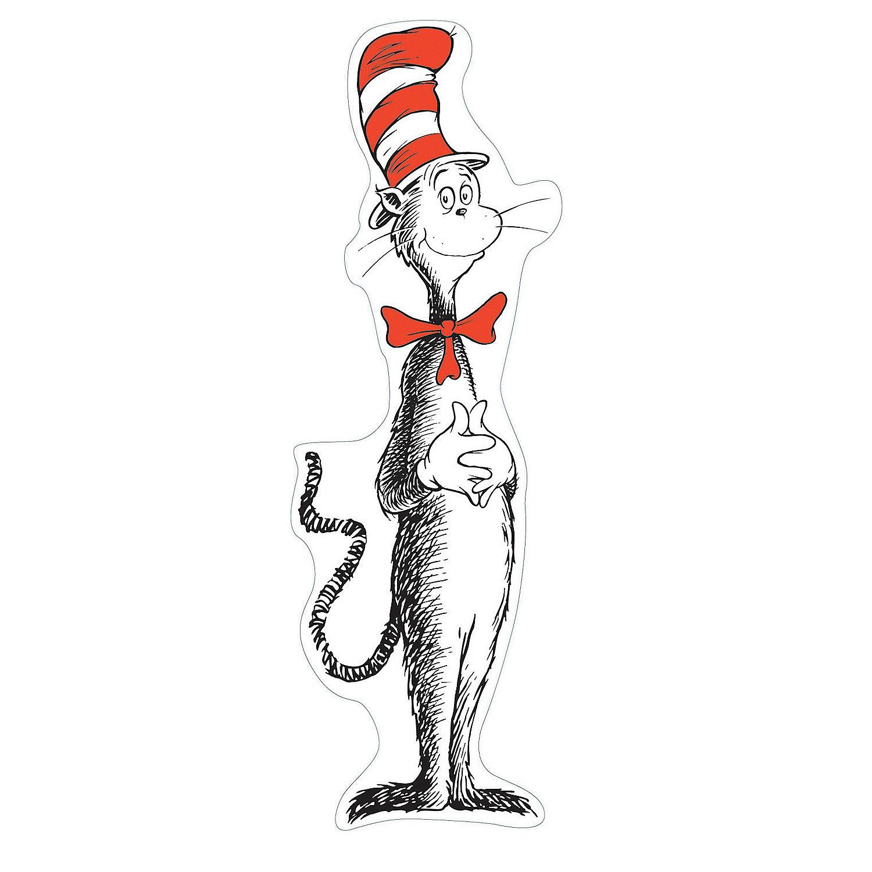 Dr Seuss Giant Cat In The Hat Bulletin Board Set