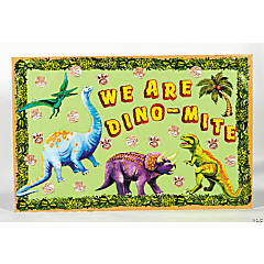 131 Pc. Dinosaur Bulletin Board Set