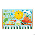 144 Pc. Garden Bulletin Board Set