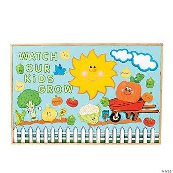 Kids Bulletin Boards: Kids White Flower Magnet Set, S/4 Wh Floral