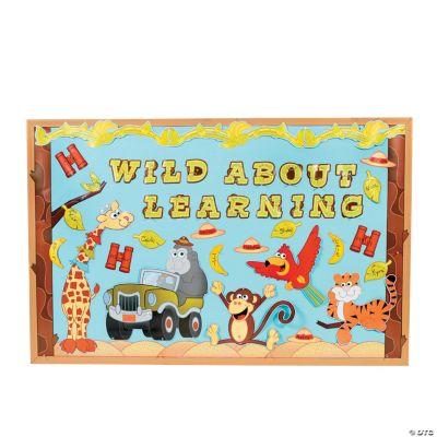 Safari Bulletin Board Set