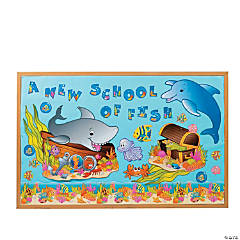 133 Pc. Under The Sea Bulletin Board Set